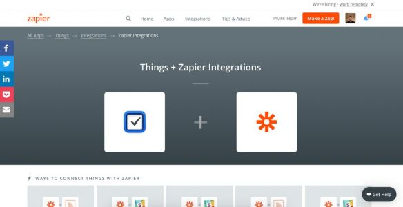 How to connect Things 3 with Zapier for endless automation