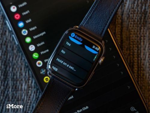 Add custom message responses to Apple Watch