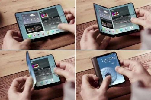 Sketches Of The Samsung Galaxy X Foldable Smartphone Leaked