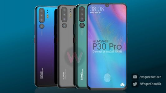 Huawei P30 Pro Flagship Envisioned In Stunning Set Of Concept Renders