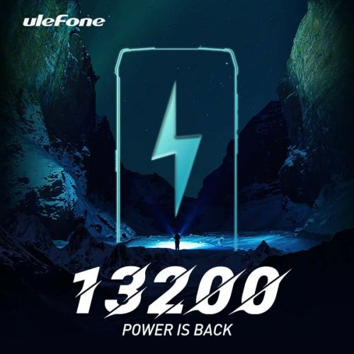 Upcoming Ulefone Smartphone Will Have A Gigantic 13,200mAh Battery