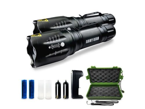 Save 75% On The Viper 1000-Lumen Tactical Flashlights: 2-Pack