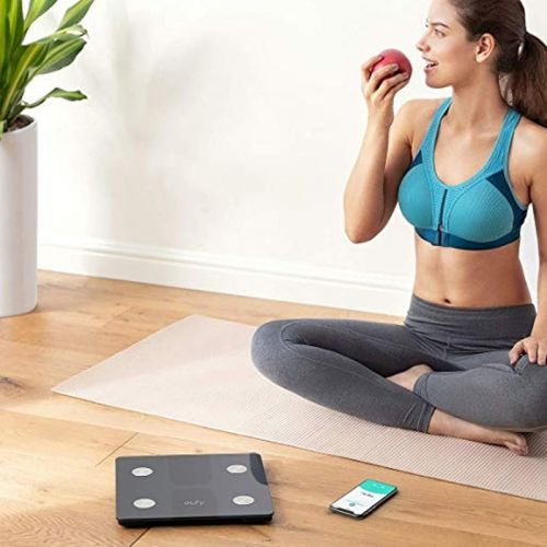 Measure results with Eufy's Bluetooth Smart Scale at one of its best prices