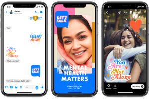 Facebook partners with WHO to release stickers for World Mental Health Day