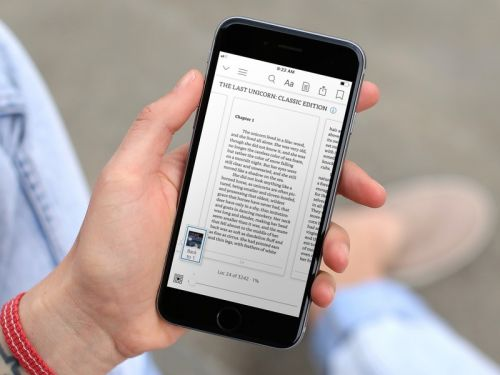 Kindle for iOS update brings new magazine format and more