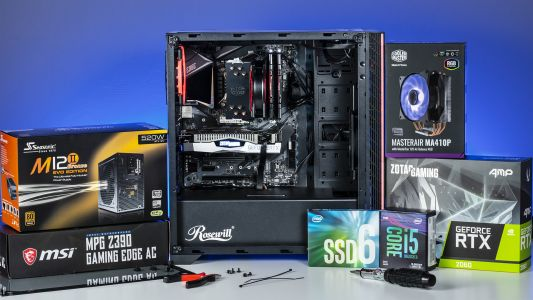 Level 2 - Intel Core i5 Unlocked GeForce RTX Gaming DIY Kit