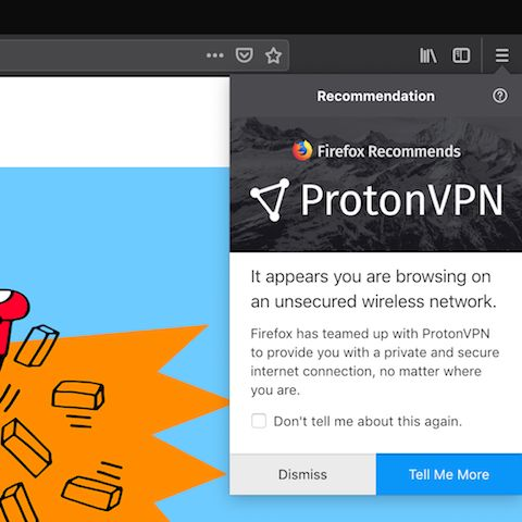 Mozilla Testing VPN Subscription Sales In Firefox