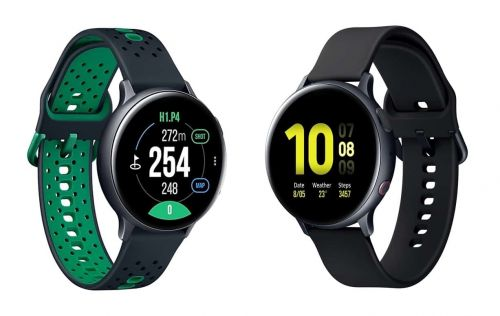 Samsung Launches Watch Active 2 Golf Edition And LTE Aluminum