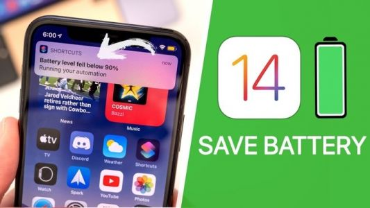 IOS 14 battery life tips
