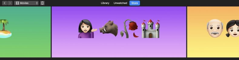 Apple Celebrates World Emoji Day With an Emoji-Themed Makeover for iTunes Movies