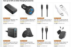 Ten of Anker's best charging accessories are on sale today only at up to 42 percent discounts