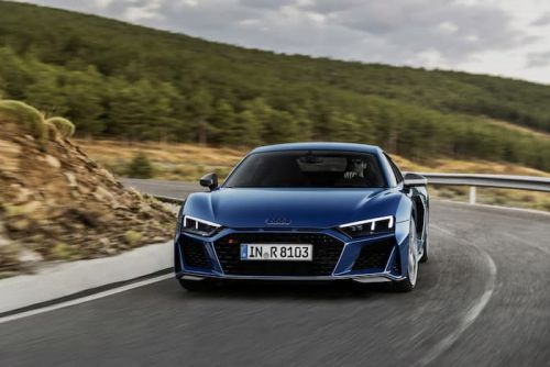 The new Audi R8 hits the track