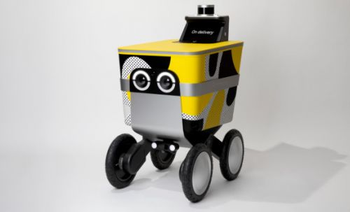 Postmates' Serve is a robot that delivers your food, refreshments, and more