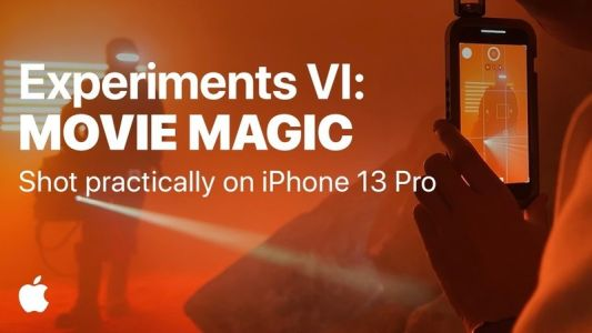 """Apple tries to recreate """"Movie Magic"""" with the iPhone 13 Pro in new video"""