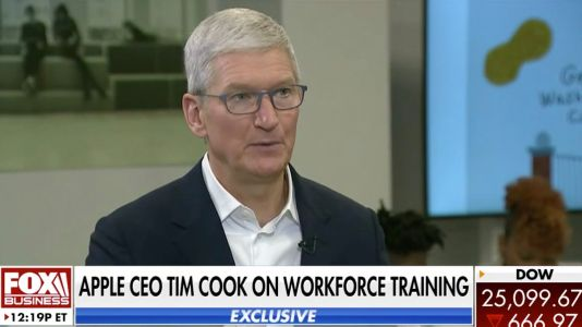 Tim Cook shares optimistic long-term view for Apple amid coronavirus, details his approach to working w/ Trump