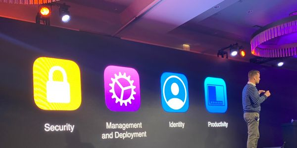 Apple highlights at JNUC 2019 that all Fortune 500 members are using Apple products