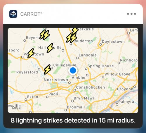 Carrot Weather Update Focuses on Even Better Notifications