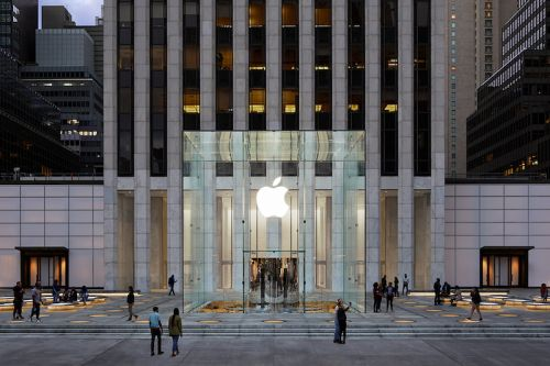 Apple Previews Revamped Fifth Avenue Flagship Store in New York City