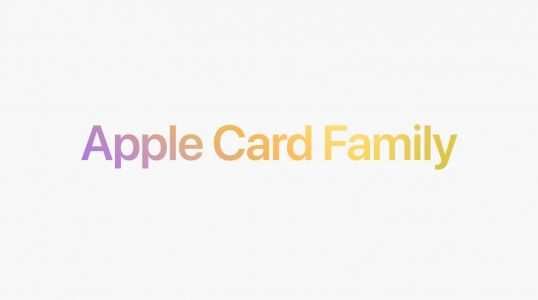 Apple officially announces Apple Card Family for sharing with family members