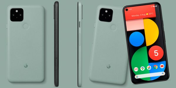More Google Pixel 5 renders show the green model in all its beauty