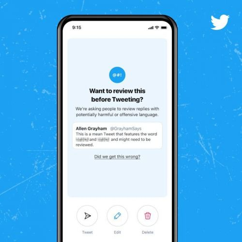 Twitter's Think Before You Tweet Feature Rolls Out To iOS And Android