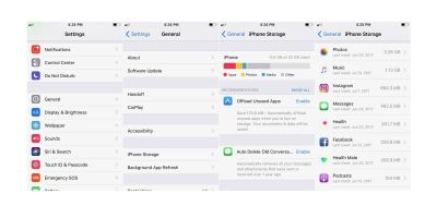 IOS 11: How to easily free up storage space on iPhone and iPad