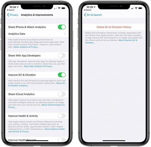 IOS 13.2 Will Give Users More Privacy Controls Over Siri