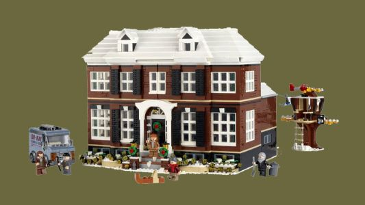 There's a giant new Home Alone Lego set coming out just before Black Friday