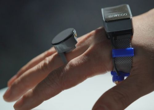 Wepoint wearable controller with electromagnetic field-based gesture recognition