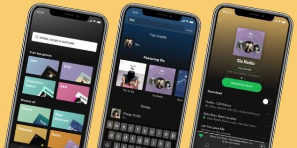 Spotify Testing A 'What's New' Timeline Feature