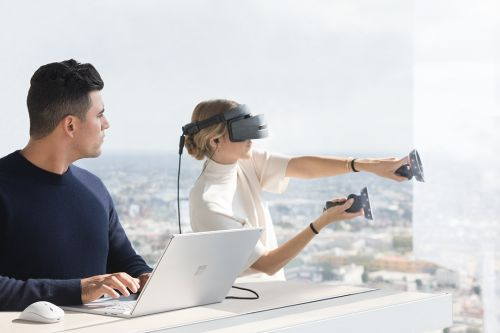 Windows 10 Fall Creators Update and mixed reality headsets available today; Announcing Surface Book 2