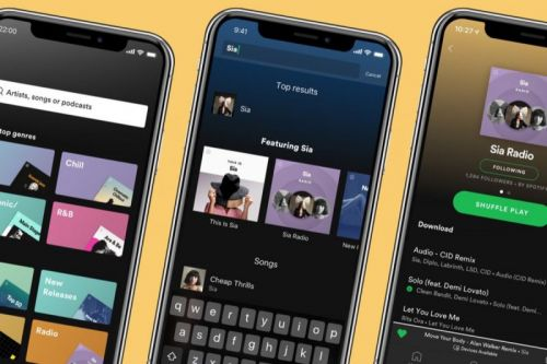 Spotify App Update Brings Personalized Artist Radio Stations and Better Search to Premium Subscribers