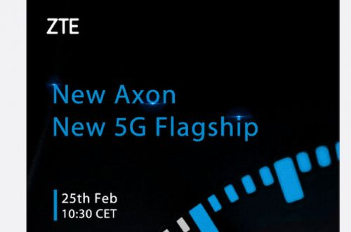 ZTE Launching Axon 5G Smartphone At MWC 2019