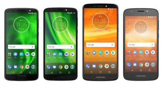 Motorola announces the 2018 Moto G6 and E5