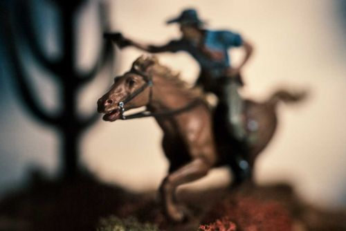 Photographer David Levinthal: Nice Boy Shares Toy