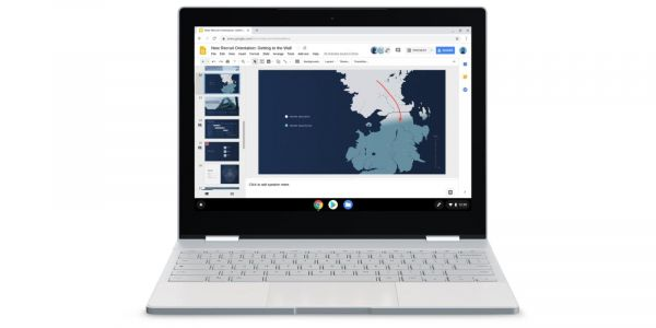 Google promoting Chromebooks with White Walkers from 'Game of Thrones'