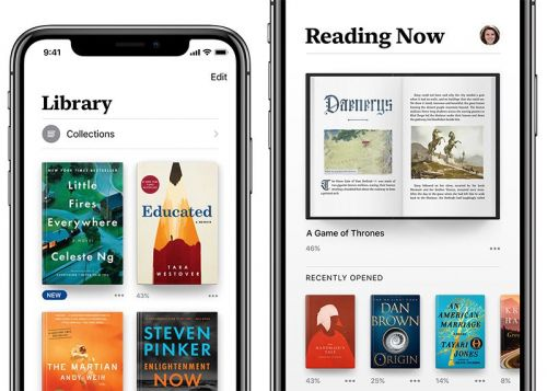 Apple Previews Redesigned Books App Coming in iOS 12