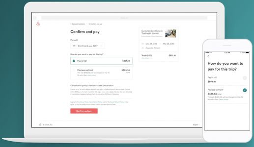 Airbnb Debuts 'Pay Less Up Front' Checkout Option to Lower Initial Cost of Bookings
