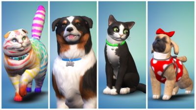 The Sims 4 rains cats and dogs on November 10