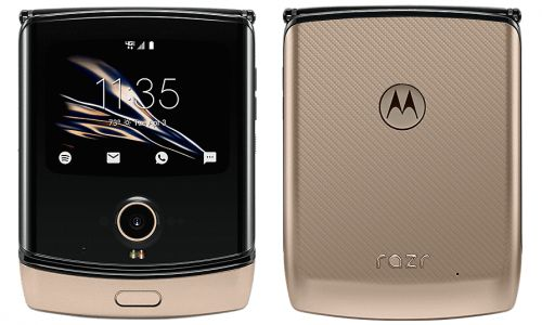 Motorola Razr Gets A Blush Gold Color Variant, Still Verizon-Exclusive