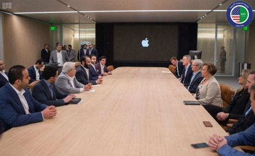 Saudi Prince Meets Tim Cook at Apple Park to Discuss Education and App Development Opportunities