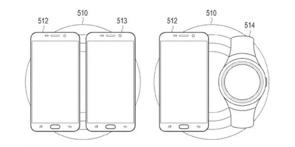 Samsung patent shows company working on AirPower-style wireless charging mat