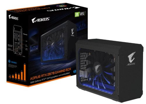 Gigabyte Aorus RTX 2070 eGPU Gaming Box external graphics card