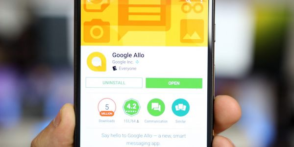 Google Allo 23 hints at contact sharing feature, preps camera effects & transcriptions, more