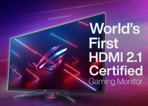 World's first HDMI 2.1 Certified gaming monitors introduced by ASUS