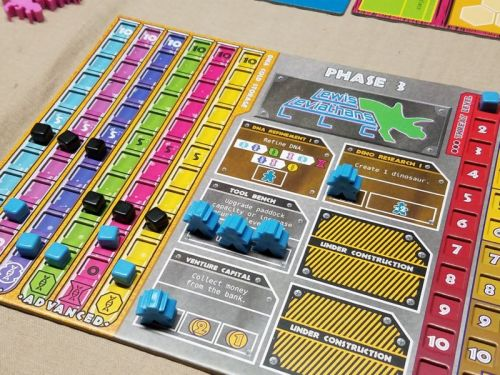 Dinosaur Island review: Get Jurassic on your theme park!