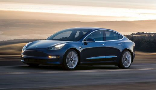 A Tesla Model 3 With Dual Motors Has Been Spotted On A Track, Performance Version Coming In 2018?