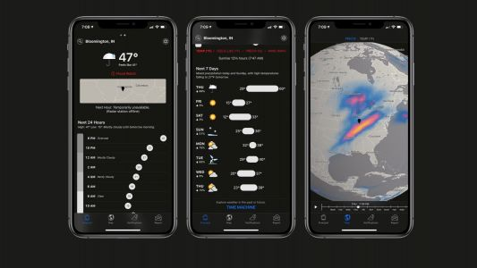 Apple-owned Dark Sky app updated with Apple Watch improvements and more