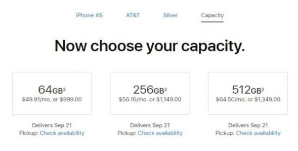IPhone Xs, Xs Max Pre-Orders Are Live, Shipping Estimates Already Slipping
