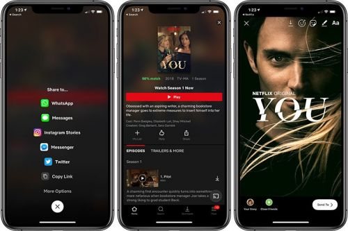 Netflix Debuts New Integration for Sharing Movies and TV Shows in Instagram Stories
